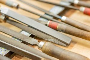 Een aantal van de tools die een goudsmit gebruikt